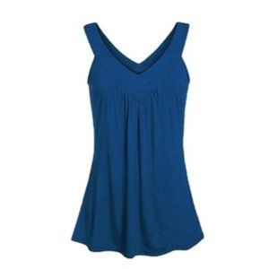 Women's Justine Top Blue M (8-10)